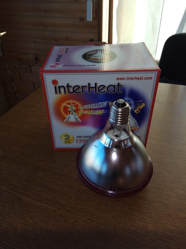 """Лампа ИКЗК """"InterHeat"""" 175W (Корея)"""